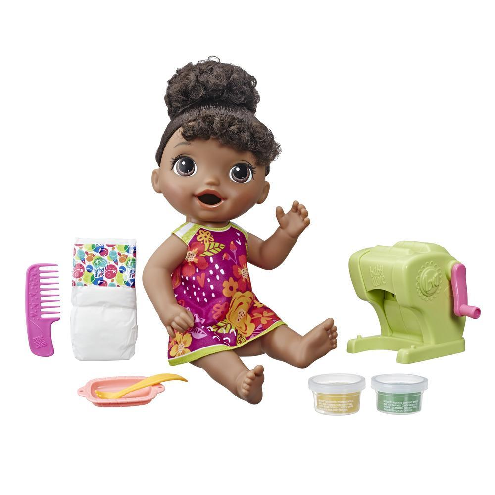 Snacking pasta Baby (cheveux noirs)