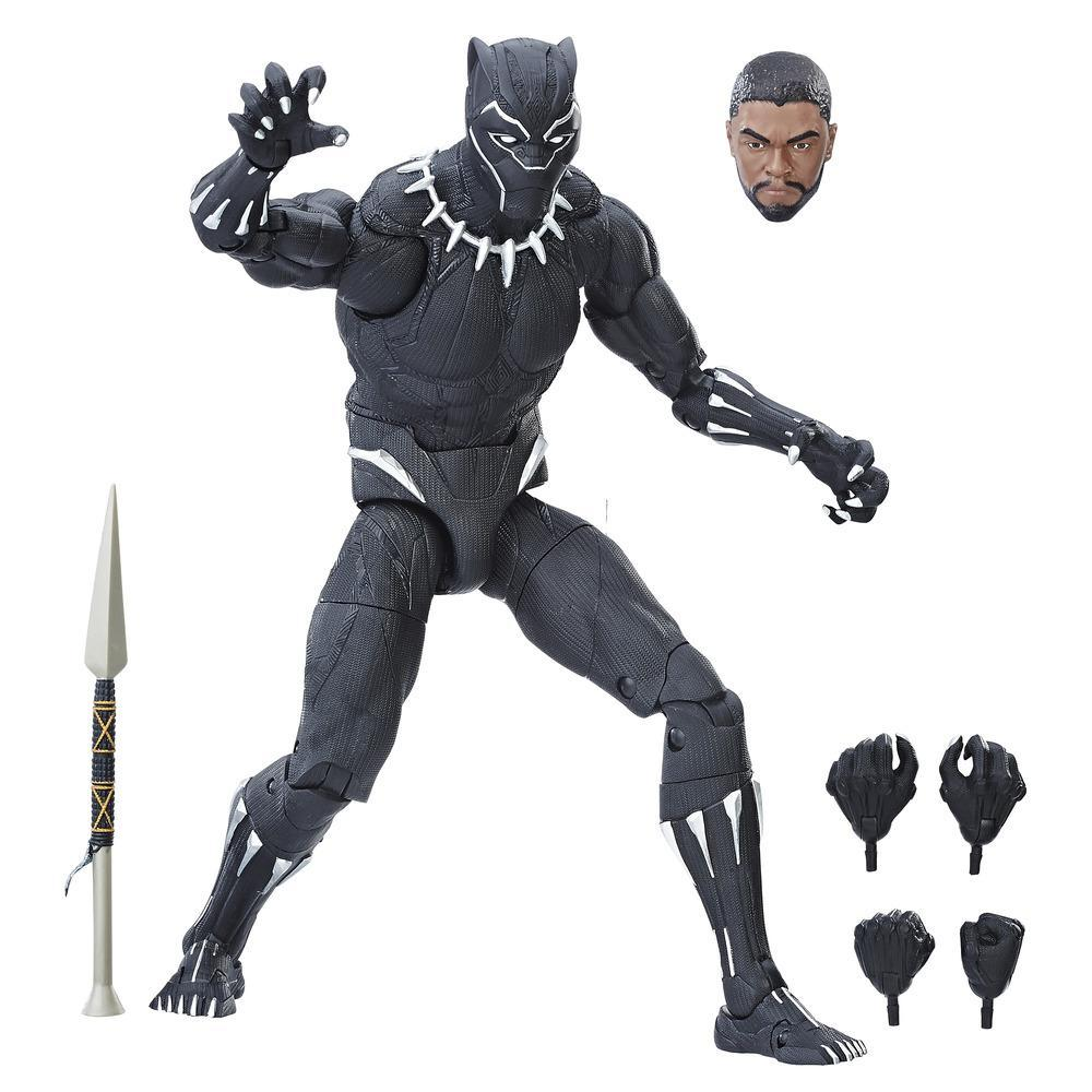 MARVEL LEGEND - FIGURINE 30CM BLACK PANTHER COLLECTOR