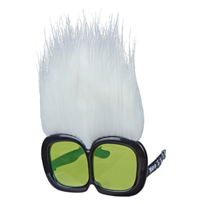 Les Trolls de DreamWorks, Lunettes de Mini Guy Diamant, lunettes de soleil amusantes inspirées du film Trolls a Tournée Mondiale