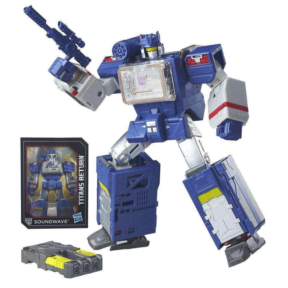 Transformers Generations Titans Return Soundwave and Soundblaster