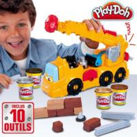 PLAY-DOH SUPER CAMION GRUE ÉLECTRONIQUE