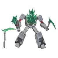 Transformers Bumblebee Cyberverse Adventures, Battle Call Megatron, classe Soldat, lumières Energon activées par la voix
