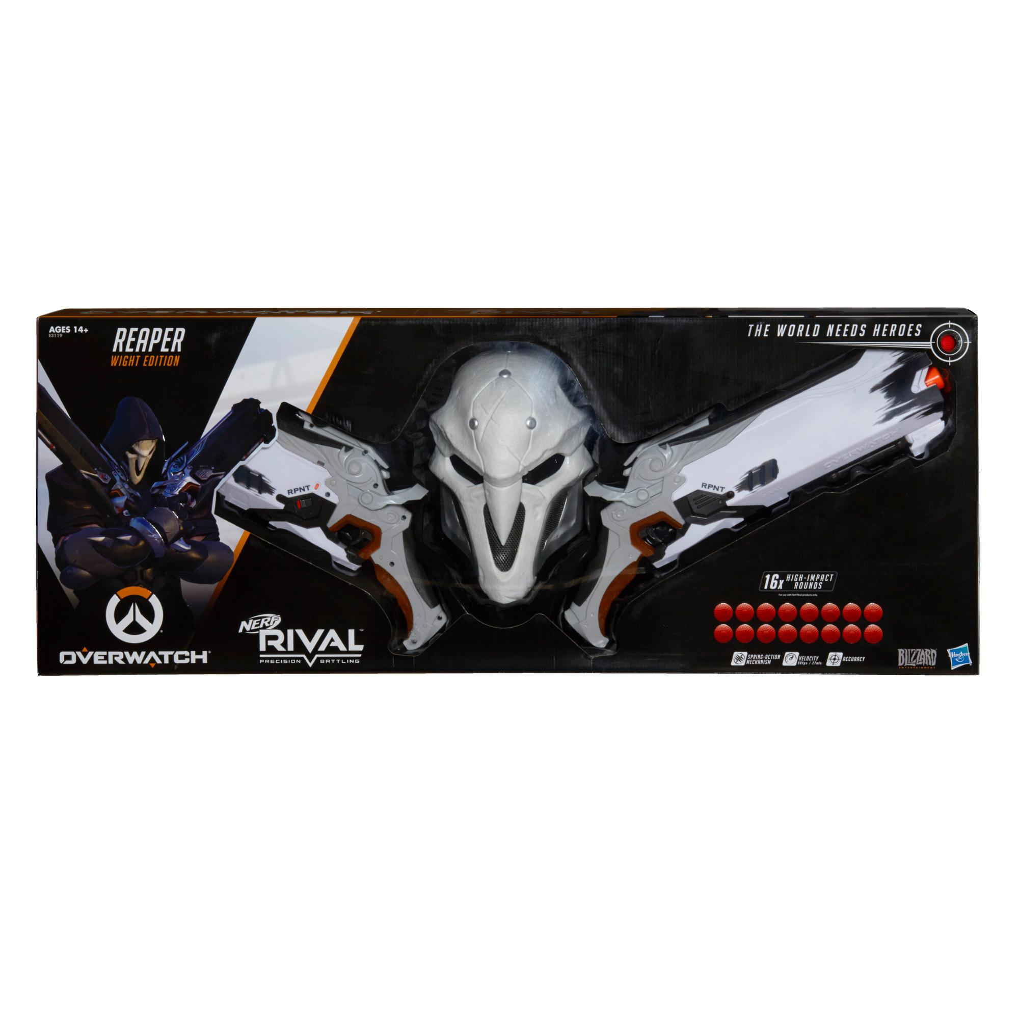 NERF RIVAL OVW REAPER COLLECTOR PK