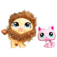 PETSHOP DUO : LION ET CHATON