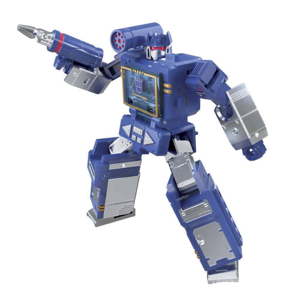 Transformers Generations War for Cybertron: Kingdom - WFC-K21 Soundwave classe Origine