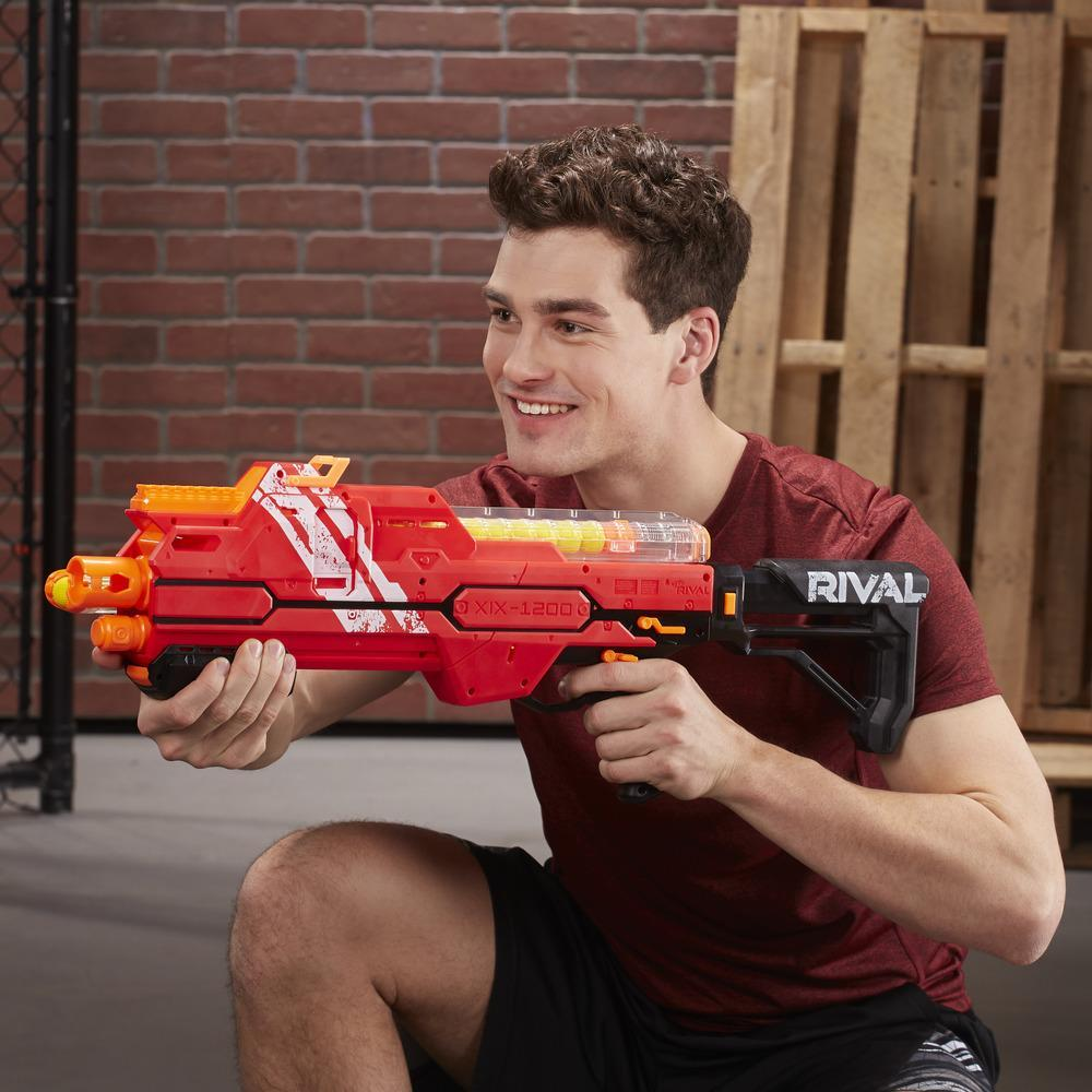 NERF RIVAL HYPNOS XIX 1200 ROUGE