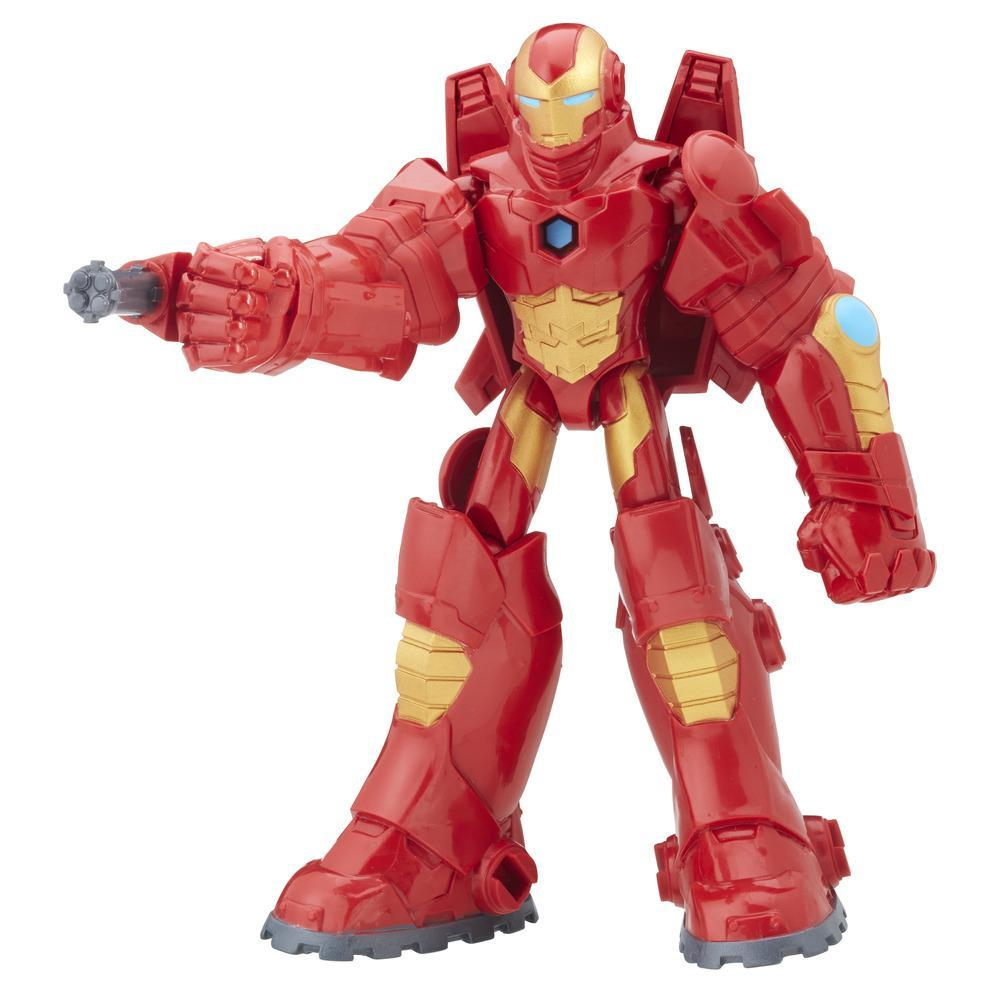 AVENGERS FIG. 15 CM DELUXE IRON MAN ET SON ARMURE
