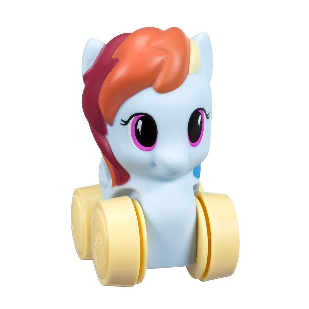 Figurine My Little Pony Wheel Pals Rainbow Dash