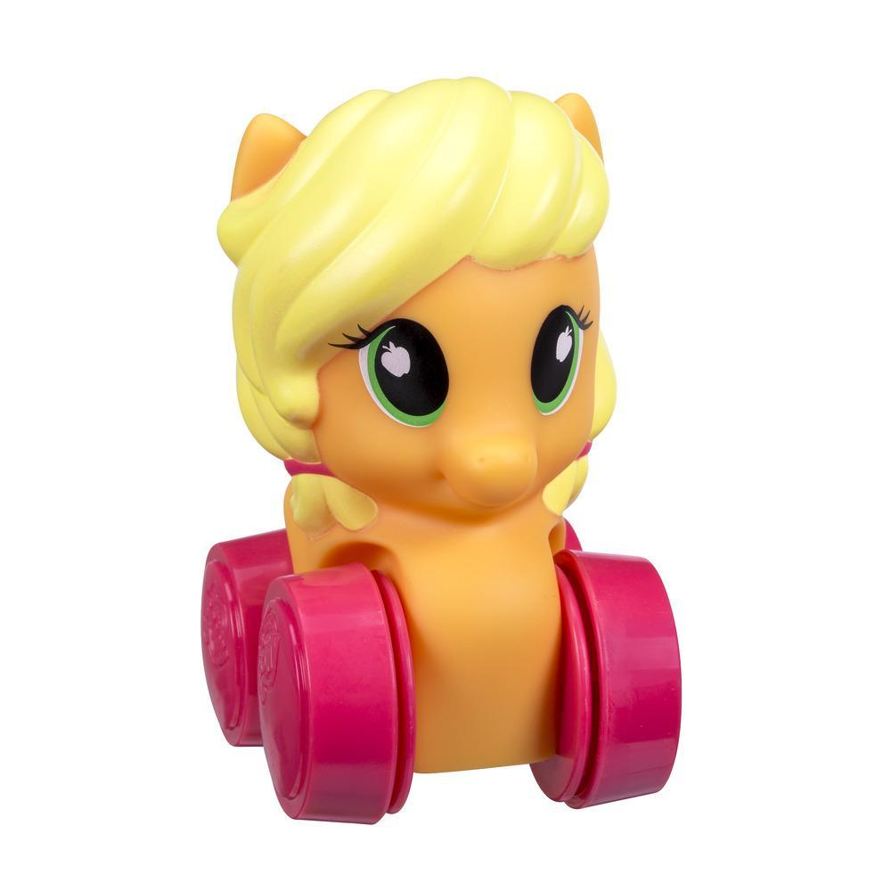 Figurine Playskool Friends My Little Pony Wheel Pals Applejack