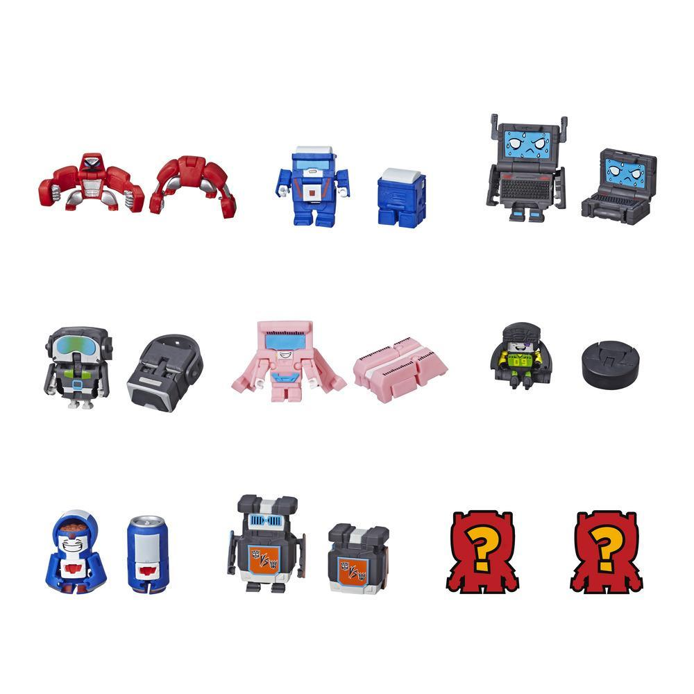 TRANSFORMERS BOTBOTS - MINI ROBOT MYSTERE PACK DE 5 TECHNO-BOTS