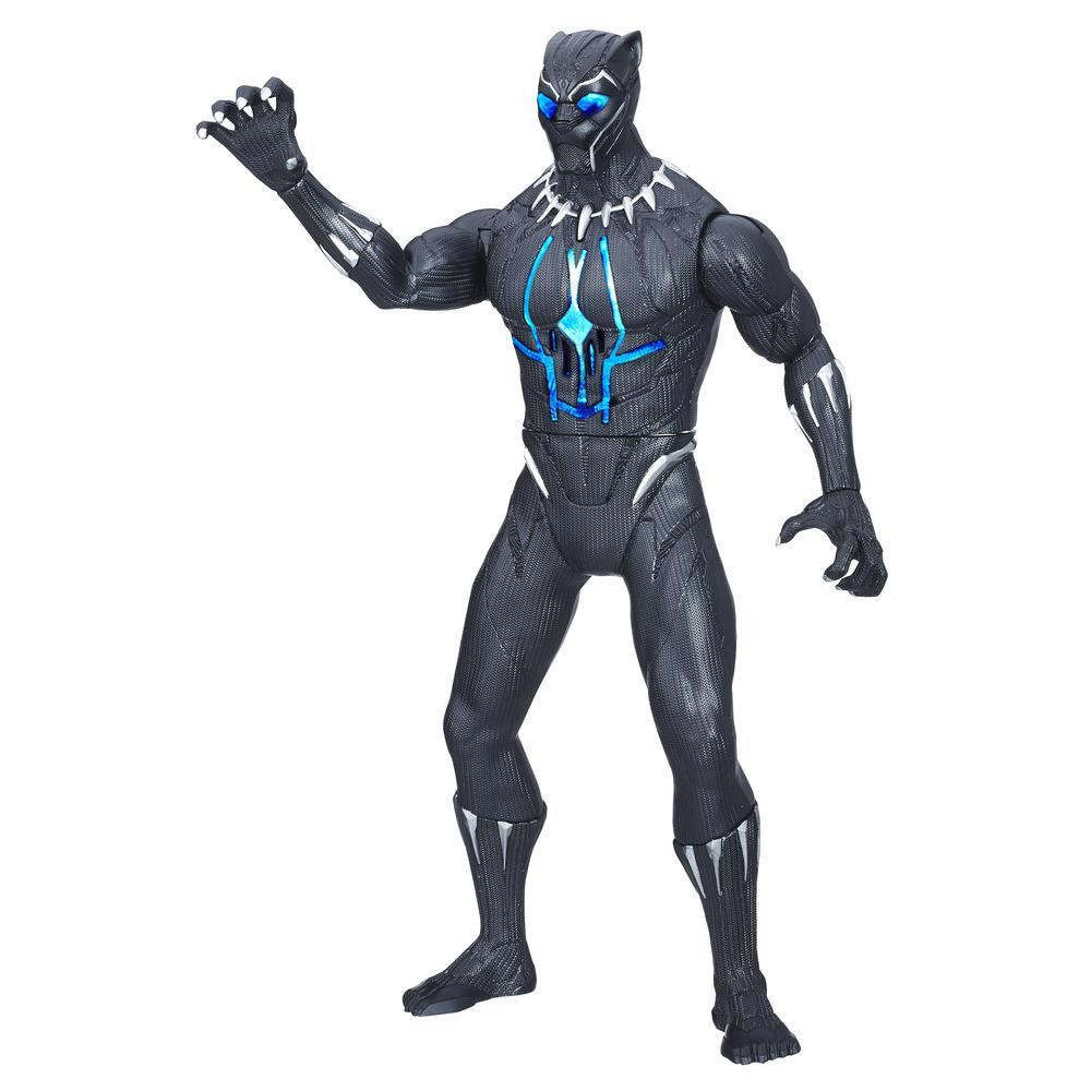 BLACK PANTHER - FIGURINE ELECTRONIQUE DELUXE 35CM