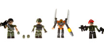 KRE-O BATTLESHIP MINI SET 4 FIG LAND DEFENSE
