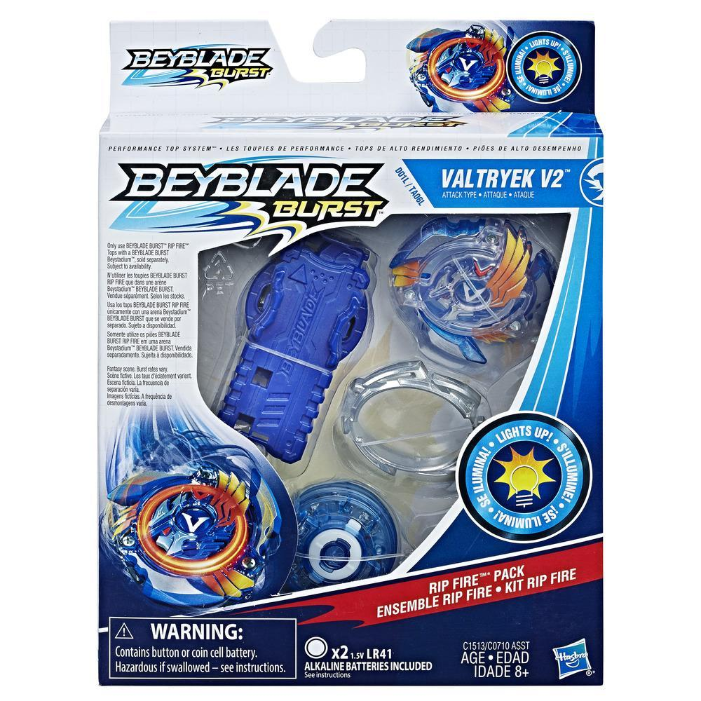 Toupies Rip Fire Beyblade Burst - Starter Pack Valtryek V2