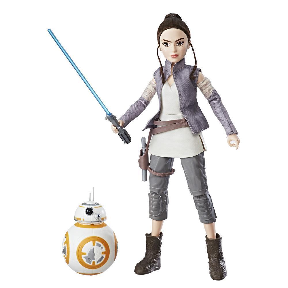 Star Wars Forces Of Destiny - Poupée Aventurière Rey et BB-8