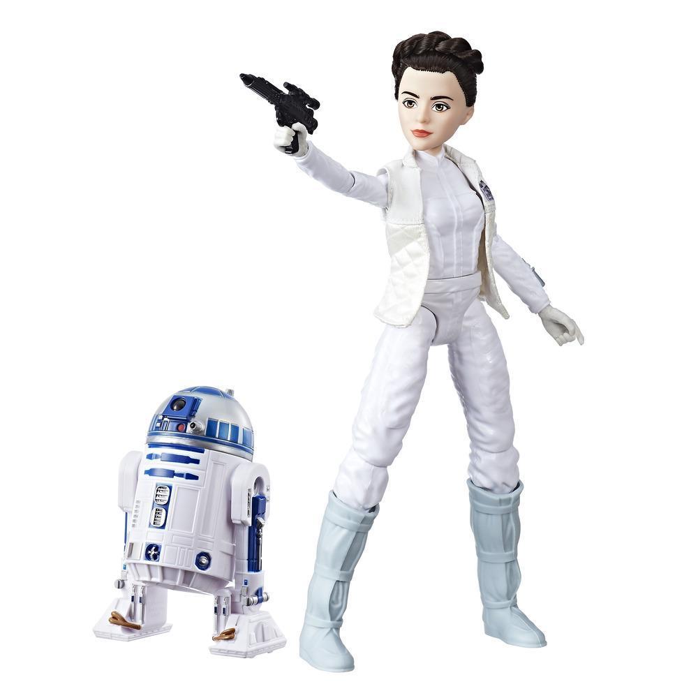 Star Wars Forces Of Destiny - Poupée Aventurière Leia et R2D2