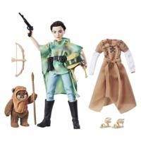 Star Wars Forces Of Destiny - Poupée Aventurière Leia et Ewok