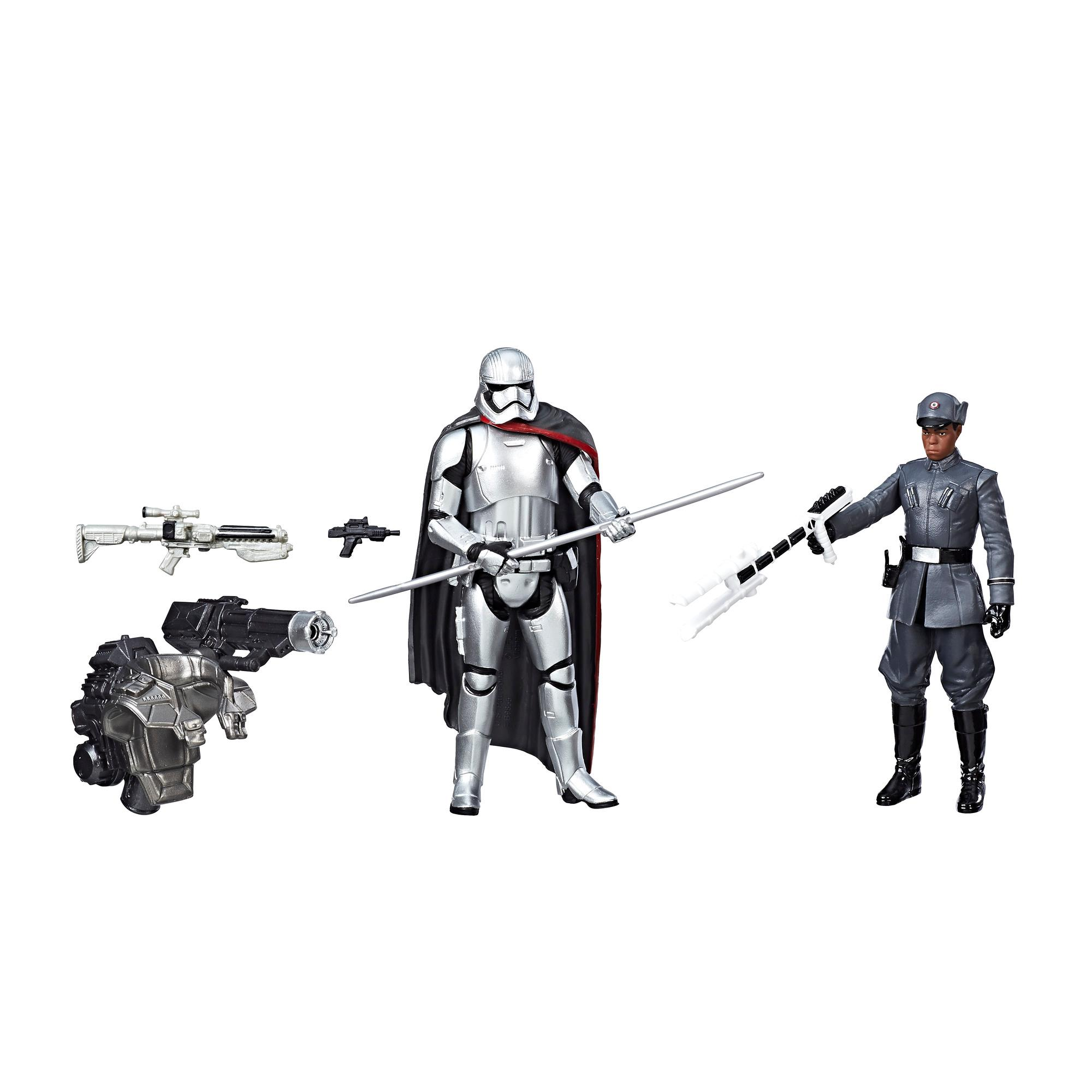 STAR WARS - FIGURINE 10CM PACK DE 2 BETA 1 BLACK AND TANGO LEADER