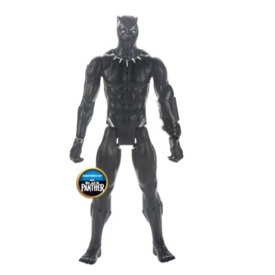 Marvel Avengers : La Guerre de l'infini Titan Hero Series - Figurine jouet de super-héros Black Panther de 30 cm