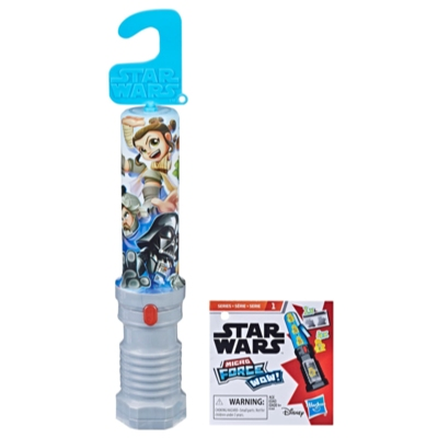 STAR WARS SABRE SURPRISE + FIGURINE