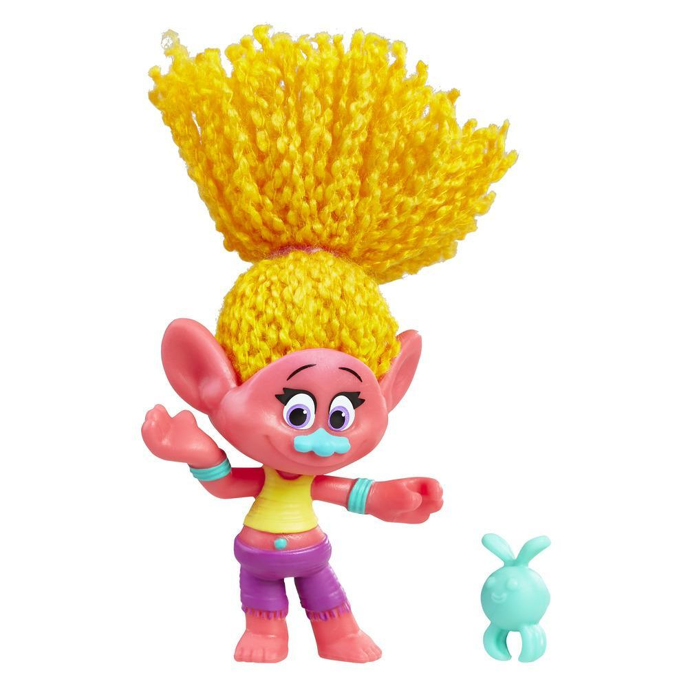 DreamWorks Trolls DJ Suki Collectible Figure with Critter