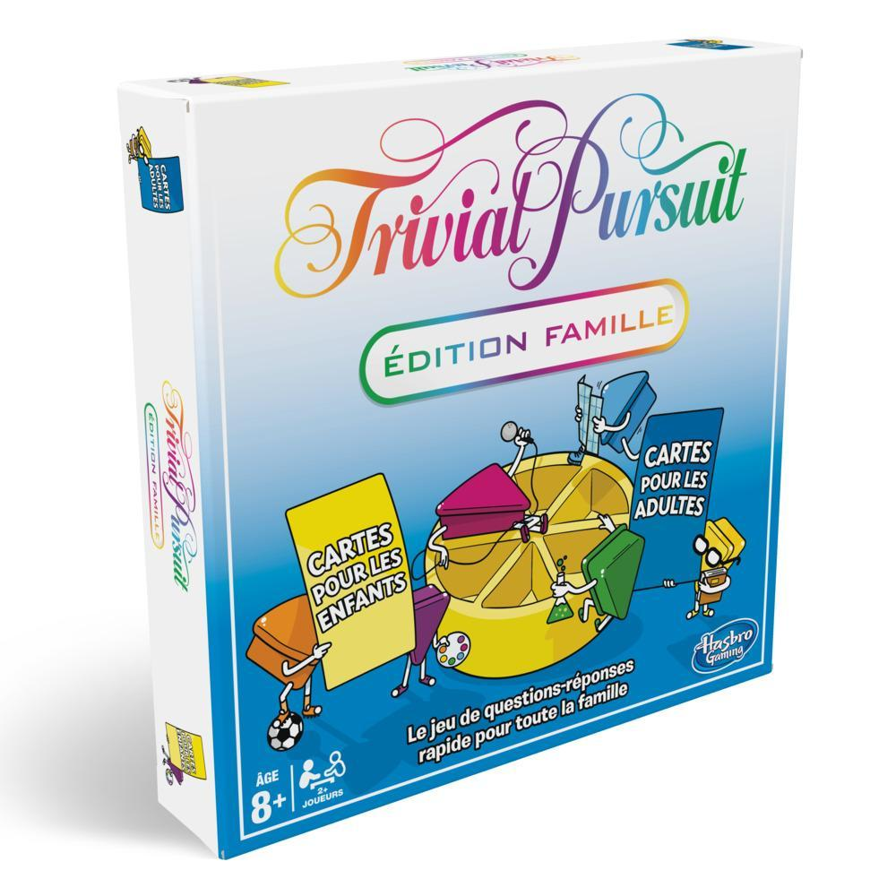 TRIVIAL PURSUIT FAMILLE NEW
