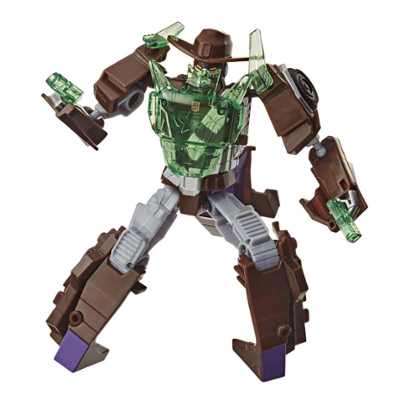 Transformers Bumblebee Cyberverse Adventures, Battle Call Wildwheel, classe Soldat, Energon Power activé par la voix Product