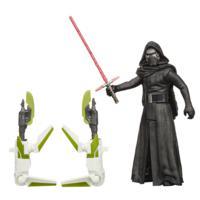 Figurine de 9,5cm Star Wars, La Guerre des Étoiles, Mission dans la forêt – Kylo Ren