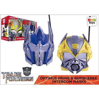 Masques électroniques Optimus Prime et Bumblebee