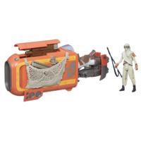 Star Wars, Le Réveil de la Force, Motojet Rey (Jakku) de 9,5cm