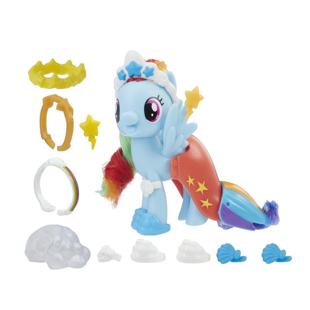 MLP Poney amis parure & accessoires Rainbow Dash