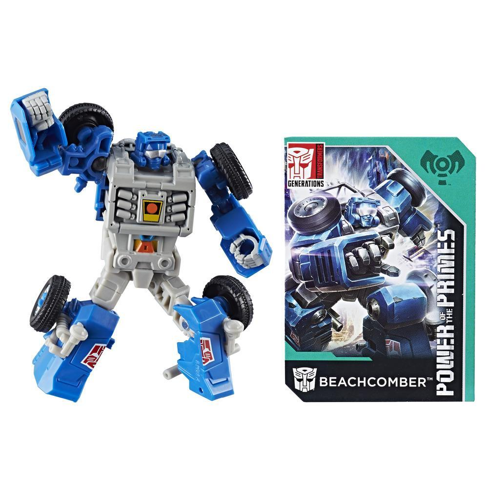 TRANSFORMERS GENERATION PRIMES LEGENDS BEACHCOMBER