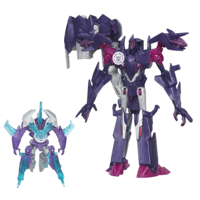 Transformers: Robots in Disguise Mini-Con Deployers Decepticon fracture et Airazor