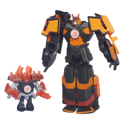 Transformers: Robots in Disguise Mini-Con Deployers Autobot Drift et Jetstorm