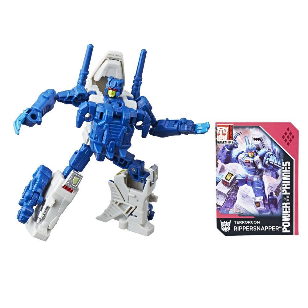 TRANSFORMERS - FIGURINE RIPPERSNAPPER DELUXE - 14cm - EDITION COLLECTOR GENERATIONS