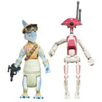 STAR WARS THE PHANTOM MENACE RATTS TYERELL & PIT DROID