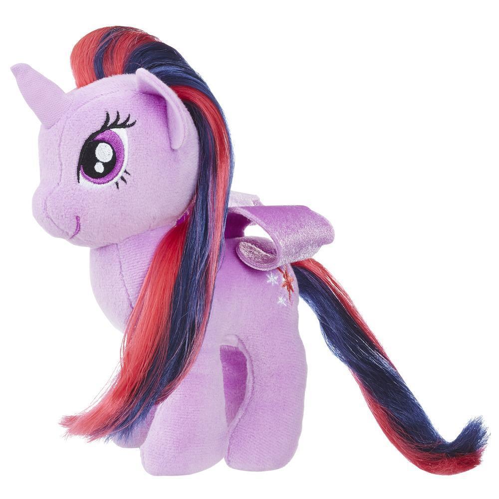 MLP Peluche Princesse Vraie Crinière 16cm Twilight Sparkle