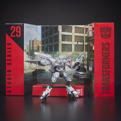 TRANSFORMERS GENERATION SS - ROBOT DELUXE SIDESWIPE 15CM