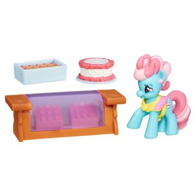 My Little Pony les amies c'est magique Collection -Coffret Mrs. Dazzle Cake-