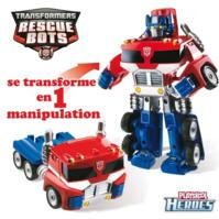 Transformers Rescue Bot - Robot transformable