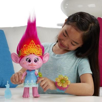 Trolls poppy chantante jouets pour filles trolls