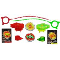 Beyblade Metal Fury Crushing Blast Barrage Pack duel
