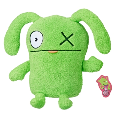UglyDolls - Avec tout mon humour, Ox, peluche d'une taille de 24 cm