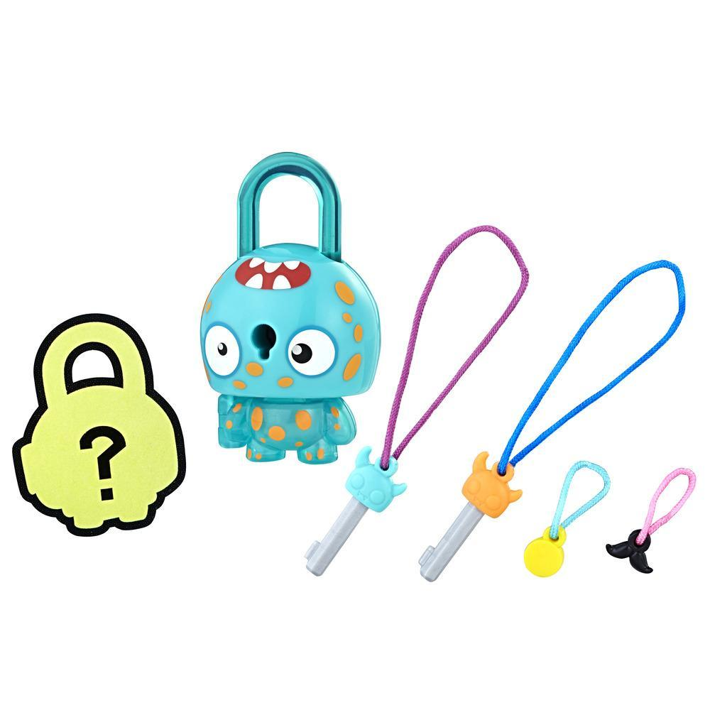 FIGURINE LOCK STARS - CADENAS A COLLECTIONNER - MONSTRE SOUS-MARIN - SERIE 2