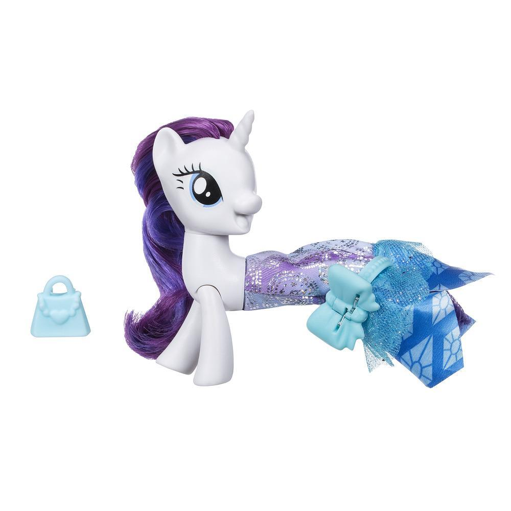 My Little Pony Le Film PONEY SIRENE ARTICULE + jupe RARITY