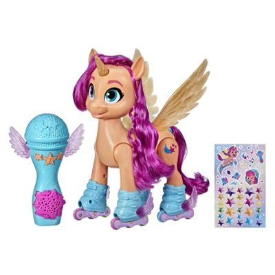 My Little Pony: A New Generation Sunny Starscout en rollers