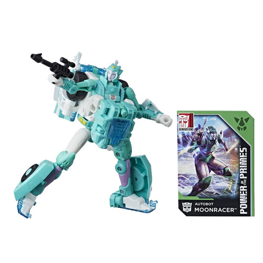 TRANSFORMERS GENERATION PRIME WARS DELUXE MOONRACER