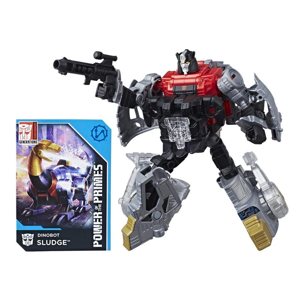 TRANSFORMERS - FIGURINE DINOBOT SLUDGE DELUXE - 14cm - EDITION COLLECTOR GENERATIONS