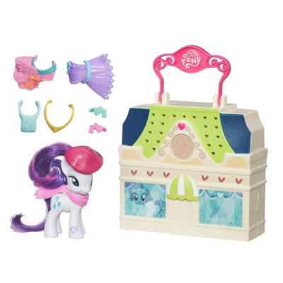 My Little Pony Malette Playset -Rarity-