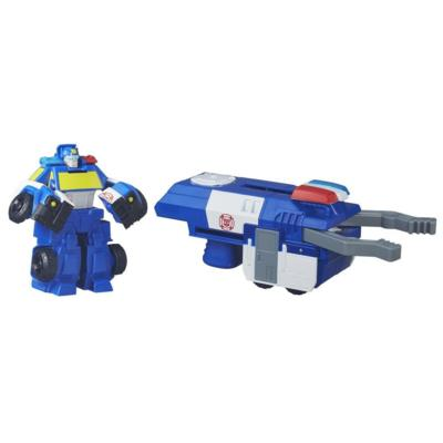 PLAYSKOOL TRANSFORMERS RESCUE BOTS ROBOT LANCEUR POLICIER CHASE