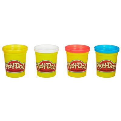 PLAY-DOH 4 pots de couleur classique